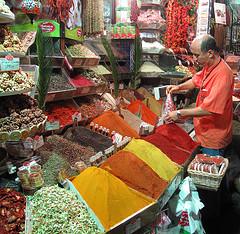 Kryddbazaar i Istanbul